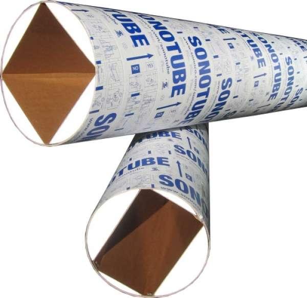 TUBE COFFRAGE CARTON CARRE / RECTANGLE